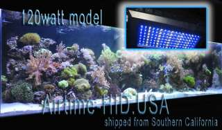 NEW   2011 REEF Edition, 120W LED light fixture. 4color