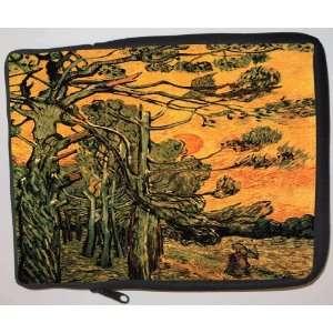 Van Gogh Art Outskirts Laptop Sleeve   Note Book sleeve
