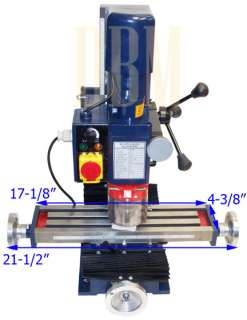 Mini Vertical Drilling Milling Machine Drill Face End Milling FREE