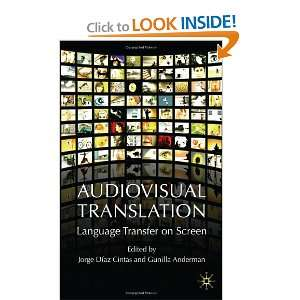 on Screen (9780230019966) Gunilla Anderman, Jorge Diaz Cintas Books