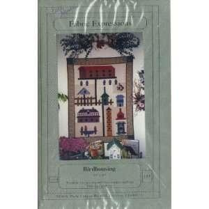 Birdhousing   39x48 inch Quilt   Pattern & Instructions