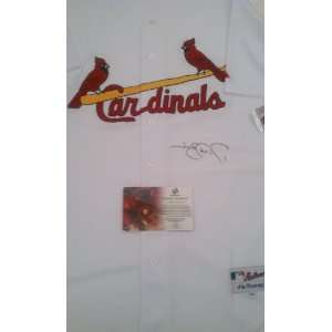 Jim Edmonds Signed St. Louis Cardinals Jersey