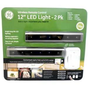 GE LED Light 12 Wireless Remote Control 2PK