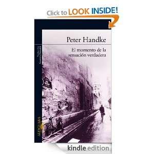 Spanish Edition) eBook Handke Peter, Genoveva Dieterich Kindle Store