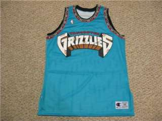 VANCOUVER GRIZZLIES DEFUNCT TEAM NBA JERSEY CHAMPION NEW SIZE 48 XL
