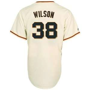 San Francisco Giants Replica Brian Wilson Gigantes Jersey