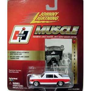 JOHNY LIGHTNING MUSCLE LINDA VAUGHN DIE CAST VEHICLE
