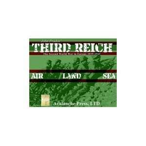 John Prados Third Reich (Avalanche Press 1st Printing) Toys & Games