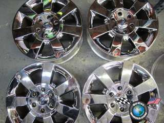 Four 04 11 Ford Expedition Factory 18 Wheels Chrome Clad OEM Rims F150