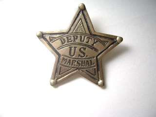 Deputy US Marshall Badge old west police Cowboy Badges2