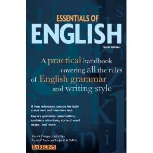 (Barrons Essentials of English) [Paperback]: Vincent Hopper: Books