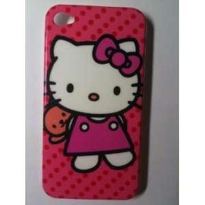 Hot Pink Kitty Dot Designer Snap Slim Hard Protector Case