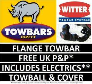 Hyundai i40 Tourer Estate 2011 on Witter HY55 Flange Towbar Tow Bar