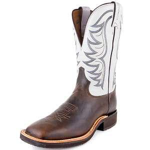 Mens Tony Lama Bay Apache Square Toe Western Boot #7918