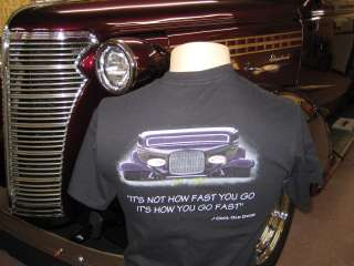 The Cool Old Dude Apparel Company Hot Rod T Shirt
