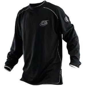 Troy Lee Designs Moto Long Sleeve Mens Mountain Bike Jersey Black