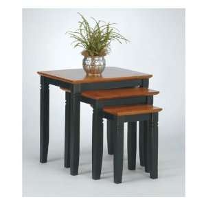 Two Tone 3 Piece Table Set