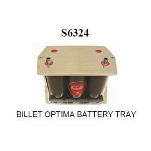 S6324 Billet Optima Battery Mount (Yellow Top Battery) Automotive