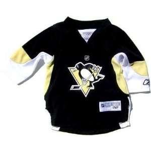 TODDLER Infant Baby Pittsburgh Penguins Black Hockey