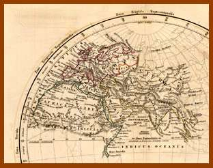 Ancient world map travel luggage for sale rare 1832 arrowsmith atlas map of the ancient world gumiabroncs Images