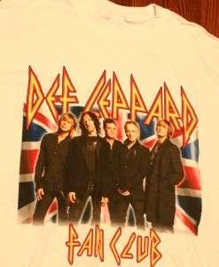 Def Leppard Heavy Metal British Concert Tour T Shirt M