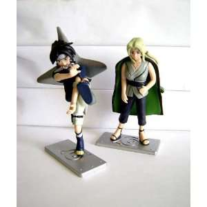 NARUTO: Sasuke and Tsunade Trading Figure Set: Toys