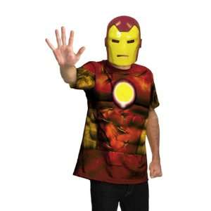 Lets Party By Disguise Inc Iron Man Tween Costume Kit / Red   Size