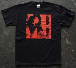 Minor Threat t shirt vtg tour style 01