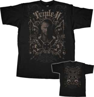 TRIPLE H GOTHIC SKULL SHRINE WWE Wrestling T shirt