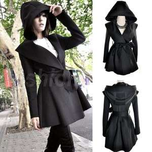 NEW Korea Womens Long Jacket Trench coat Outerwear Tops Dress Style