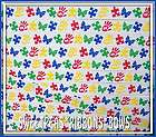 Autism Awareness Puzzle Pieces grosgrain ribbon 4 Bows Autistic
