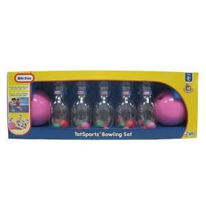 Little Tikes Girls TotSports Bowling Set Pink Toys & Games