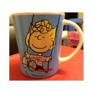 PEANUTS SALLY on a SWING   LIFE GOES ON Coffee Mug