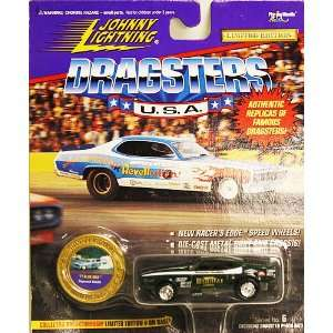 Lightning Dragsters USA 71 Blue Max Raymond Beadie: Toys & Games
