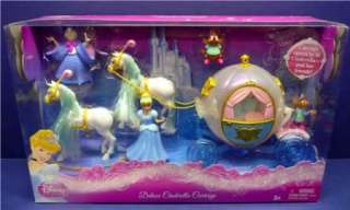 Disney Princess Cinderella Carriage Deluxe Favorite Moments Fairy