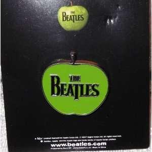 The BEATLES Green Apple Logo Enamel PIN/ Badge Everything
