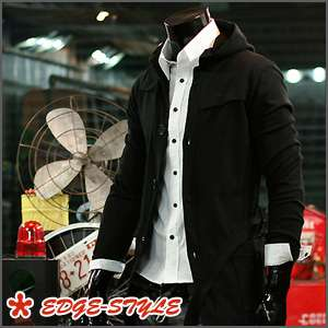 B12 02 Korea Fashion Casual Belt Long Hoodie Cardigan