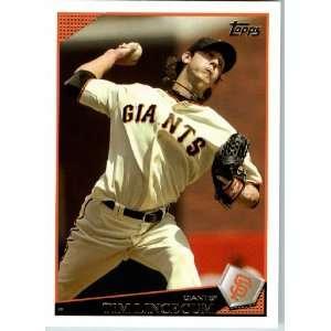2009 Topps Baseball # 195 Tim Lincecum San Francisco