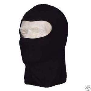 Black Balaclava Ninja Full Face Mask Liner Cop Police