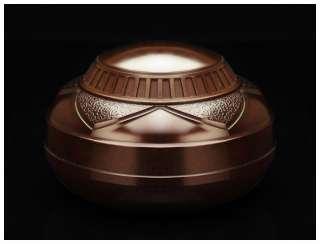 ART DECO Machine Age Bakelite BOX TOBACCO HUMIDOR Cookie Jar