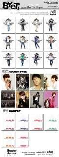 SJ SUJU Super Junior   Notebook / Diary ELF Deluxe Edition Fanmade