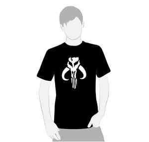 Star Wars Bantha Skull Boba Fett Shirt NEW