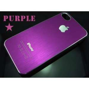Purple Ultra Thin Rubber Matte Hard Case Cover for Iphone