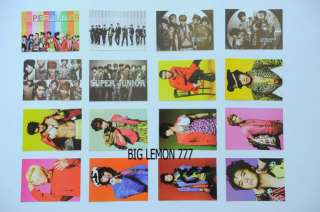 SUPER JUNIOR SMr.Simple KOREAN BAND 16 Postcards Set