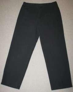 RALPH LAUREN SPORT Size 14 Black Dress Pants 34 x 32 Womens Misses