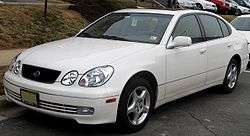 Die cast car white Lexus GS 430 Jada DUB CITY 1/24