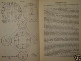 OCCULT GREATER KEY OF SOLOMON GOETIA GRIMOIRE MAGIC
