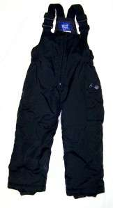 Boys Black Waterproof RAWIK Kids Snow Ski Skiing Bibs Pants size 4