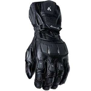 Scorpion Magnum Mens Leather Street Motorcycle Gloves   Black