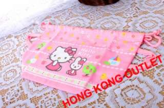 Hello Kitty Bento Lunch Box Bag Drawstring Sanrio C43a